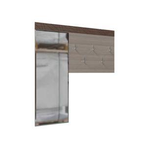Купить Вешалка настенная Гранд Кволити 2-3812 с зеркалом Трио