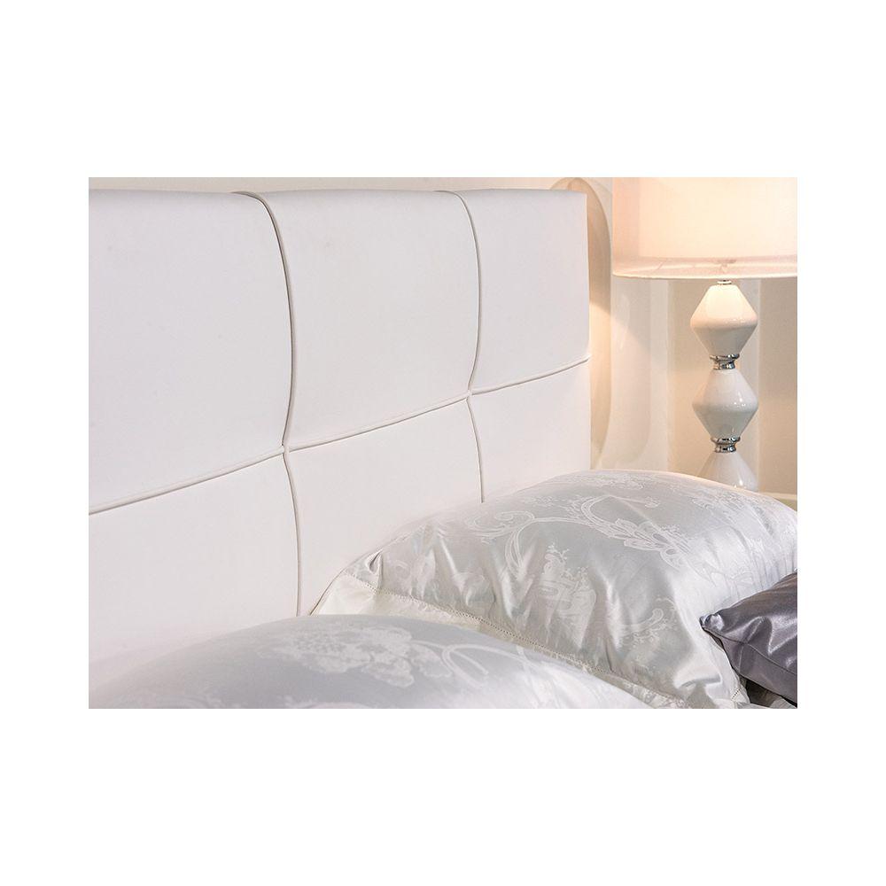 Кровать Аскона Erica 180*200 без основания цвет экотекс white ...