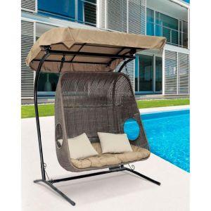 Купить Подвесное кресло ЭкоДизайн Canopy для двоих Y9048