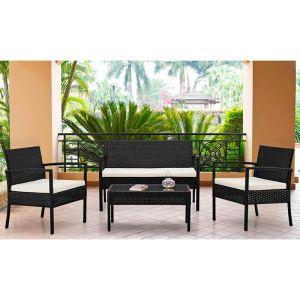 Купить Комплект ЭкоДизайн К210000 (диван + 2 кресла + стол)