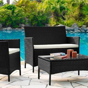 Купить Комплект ЭкоДизайн К210013A (диван + 2 кресла + стол)