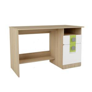 Купить Стол письменный Аквилон СП17 Стиль цвет туя светлая/белый глянец/лайм
