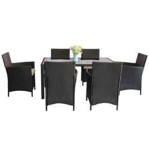 Купить Комплект мебели ЭкоДизайн Helsinki (стол + 6 кресел)