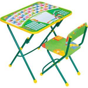 Купить Комплект детской мебели Ника КУ1/13 Первоклашка цвет зелёный