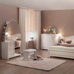 Купить Спальный гарнитур Мебельсон Белла цвет белый/софт джелато