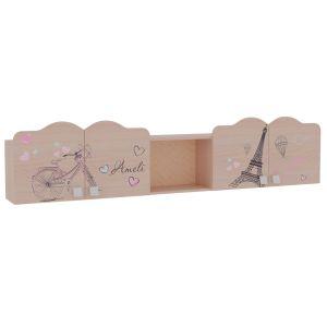 Купить Полка навесная Мебельсон MDA-04 Амели цвет млечный дуб