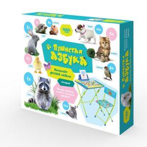 Купить Комплект детской мебели Ника КУ2/ПА Пушистая азбука