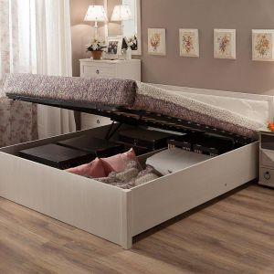 Купить Кровать ГМФ К32.2 Марсель 160*200 с подъемным механизмом цвет бодега светлый