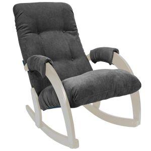 Купить Кресло-качалка Мебель Импэкс Комфорт м.67 цвет дуб/verona antrazite grey