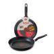 Сковорода Tefal Extra 22 см цвет черный
