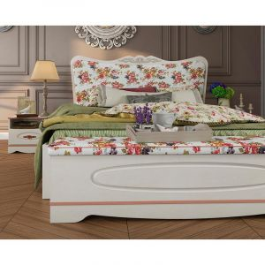 Купить Кровать АСМ-Модуль 1.0.8 Флоранс цвет сосна прованс
