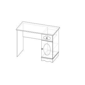 Купить Стол письменный АСМ-Модуль 1.1.0 Флоранс цвет сосна прованс