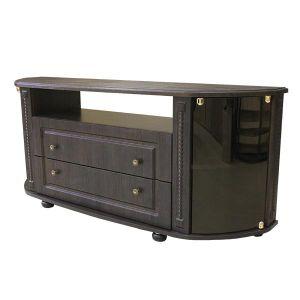 Купить Тумба под телевизор Аквилон ТТВ Азалия цвет венге/стекло бронза