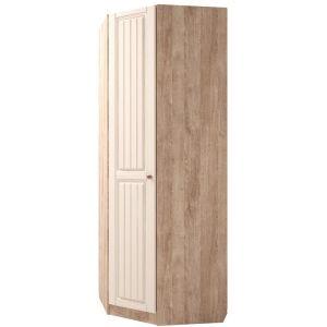 Купить Шкаф угловой Комфорт-S М3 Богуслава левый цвет дуб баррик светлый/крем брюле