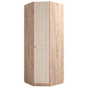 Купить Шкаф угловой Комфорт-S М3 Богуслава правый цвет дуб баррик светлый/крем брюле