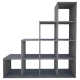 Стеллаж ВПК Polini Home Smart каскадный 10 цвет бетон