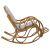 Кресло-качалка Мебель Импэкс Classic MI-001 с подушкой мёд