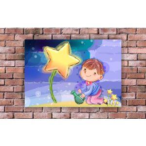 Купить Картина Строй-Комплект Звездный цветок 70*50