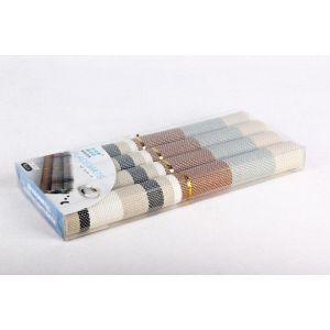 Купить Набор салфеток КОРАЛЛ 3242 30*45 см цвет белый/бежевый