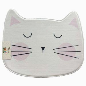 Купить Ковёр АРИЯ Kitty 79*62 см цвет бело-розовый
