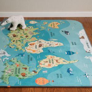 Купить Ковёр Амиковры Matlig 0332 Карта мира 130*180 см