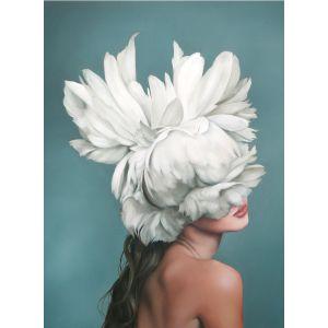 Купить Картина Строй-Комплект Женщина-цветок 1 50*70 см