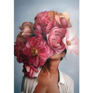 Купить Картина Строй-Комплект Женщина-цветок 2 50*70 см