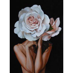 Купить Картина Строй-Комплект Женщина-цветок 3 50*70 см