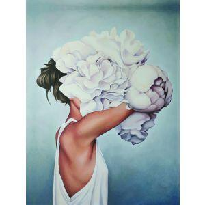 Купить Картина Строй-Комплект Женщина-цветок 4 50*70 см