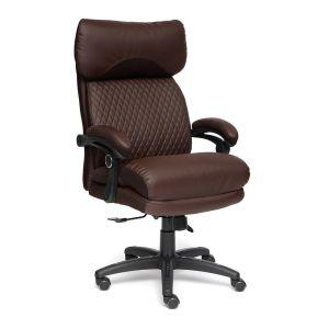 Купить Кресло компьютерное TetChair Chief цвет кож/зам, коричневый, 36-36