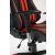 Кресло компьютерное TetChair iCar кож/зам, черный/красный