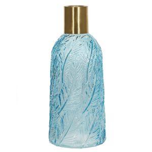 Купить Ваза РЕМЕКО 748901 13*13*30 см цвет голубой