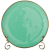 Купить Тарелка закусочная Арти М 408-108 Concerto цвет тиффани