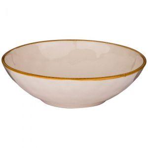 Купить Тарелка суповая Арти М 408-110 Concerto цвет кремовый