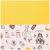 Скатерть Арти М 850-861-2 Бон Вояж 140*180 жёлтый/кремовый