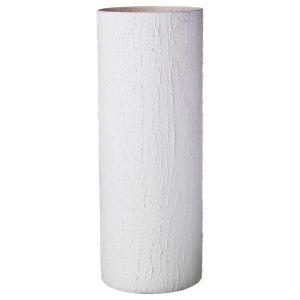 Купить Ваза Арти М 316-1438 Cilindro tahira bianco 40*15 см цвет белый