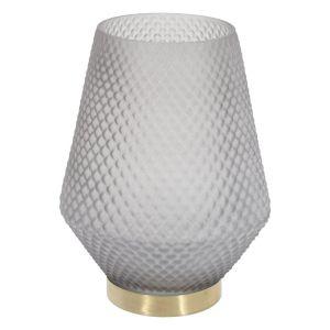 Купить Ваза РЕМЕКО 748910 19*19*24,5 см цвет серый/золото