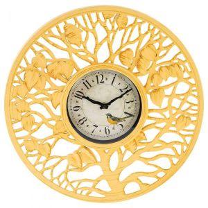 Купить Настенные часы Арти М 220-396 Древо желаний 41 см цвет жёлтый