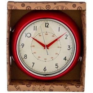 Купить Настенные часы Арти М 220-441 Lovely home 23 см цвет красный