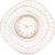 Купить Настенные часы Русские подарки 60807 La Geer 46*5*46 см цвет белый/золотой