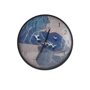 Купить Настенные часы Русские подарки 89812 Viron 30 см цвет белый/синий