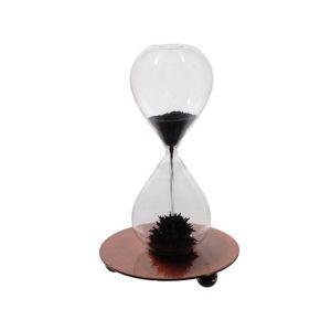Купить Песочные часы РЕМЕКО 612679 15 сек 7,5*7,5*12 см цвет белый/золото