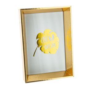 Купить Фоторамка Русские подарки 187111 для фото 10*15 см 12*17 см цвет золото