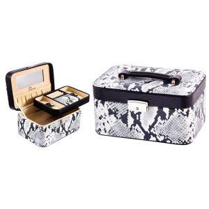 Купить Шкатулка Русские подарки 183037 Calvani 22*15*11 см цвет белый/серый