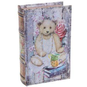 Купить Шкатулка-книга РЕМЕКО 393643 11*5*17 см цвет голубой