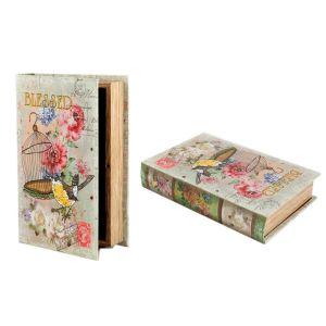Купить Шкатулка-книга Русские подарки 184361 Весенние мотивы 24*16*5 см цвет мультиколор