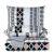 Постельное бельё АРИЯ Ранфорс Milady 200*220 цвет белый/серый белый/серый