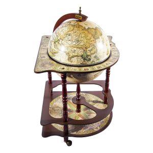 Купить Глобус-бар Русские подарки 47205 Brigant Сокровища древнего мира 54*54*93 см