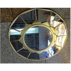 Купить Зеркало Русские подарки 237924 44 см цвет золото