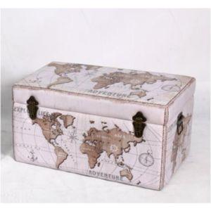 Купить Сундук Русские подарки 47148 Карта мира 60*37*33 см